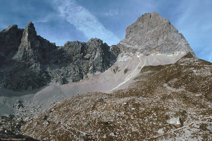 Klettersteig Lamsenspitze : Bergtouren lamsenspitze